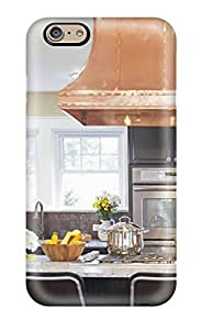 Durable Defender Case For Iphone 6 Tpu Cover(copper Range Hood In Kitchen) by lolosakes