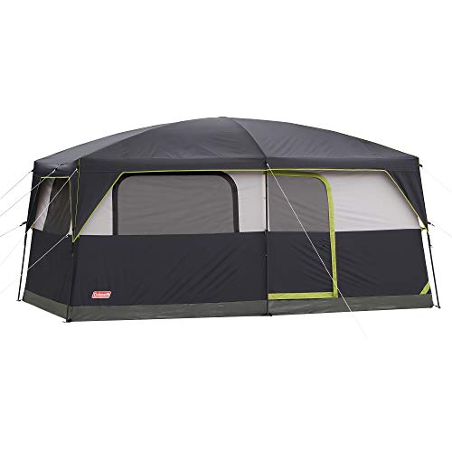 - Coleman Prairie Breeze Lighted Cabin Tent, 9-Person