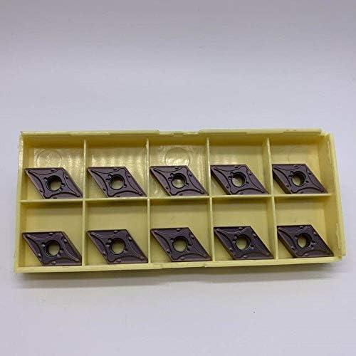 10pcs DNMG150408 MA VP15TF / UE6020 Carbide Drehplatten CNC-Drehmaschine Metallschneidwerkzeug gute Qualität Messerklingen Stahl Arbeits (Größe : DNMG150408 MA VP15TF)