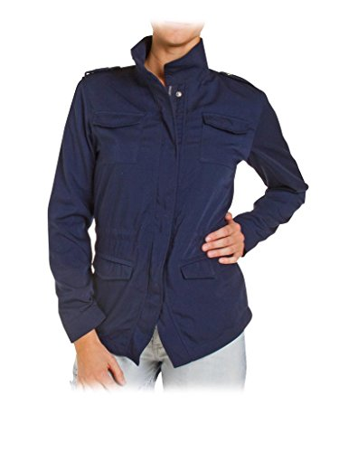 491 Couleur Longue Carrera 696 Unie Style Pour Taille Blouson Manche Femme Jeans Normale Bleu Saharienne rqr70pfEn
