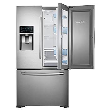 Samsung RF23HTEDBSR Integrado/Independiente 637L A+ Acero inoxidable nevera puerta lado a lado - Frigorífico