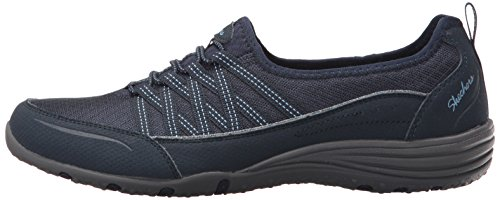 Women''s navy Trainers Big Unity Skechers go Blue RCqw8Wax
