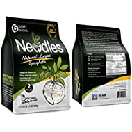 Newdles Konjac/Shirataki Low-Calorie Plain Spaghetti (2 packs) No boiling, Low Carb, Low Calories, High water-soluble dietary fiber, Non-GMO, Gluten-Free, No Sugar, Vegan
