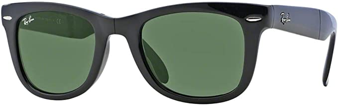 ray ban 4105 folding wayfarer polarized