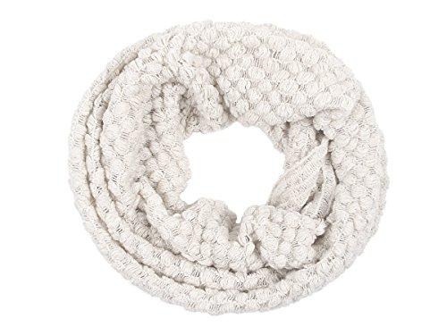 Scarf Bianco Girocollo Loop Sch Viper Tube 252b a maglia Sciarpa lavorato Winter Snood Sciarpa CpqXOwg