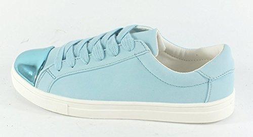 ICHI Damen A Lina FW Sneaker Blau (Faded Denim)