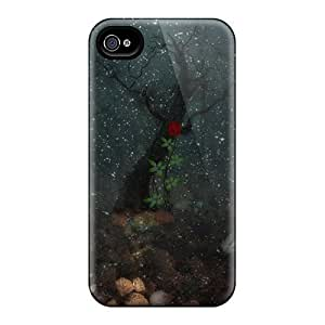 Shock-dirt Proof Behind Glass Case Cover For Iphone 4/4s by lolosakes