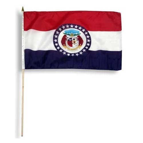 US Flag Store Missouri Flag 12 x 18 inch