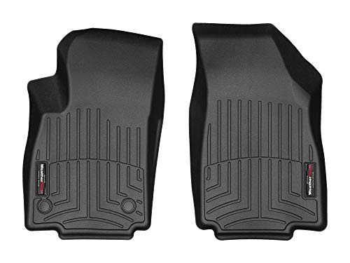 WeatherTech (445321 FloorLiner, Front, Black (Floor Buick Weathertech For Mats)