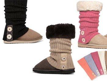 Snuggsox Rebeca de calcetines para de botas UGG/calentadores de la pierna Naranja Coral Orange: Amazon.es: Ropa y accesorios