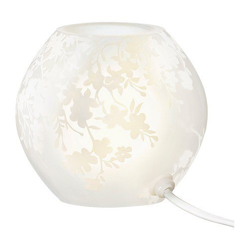 Cherry Paper Floor Lamp - Ikea Table Lamp Knubbig White Frosted 7