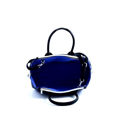 Borsa Spalla Tracolla Donna K-Way Bag Woman K-Double Handbag-ROYAL