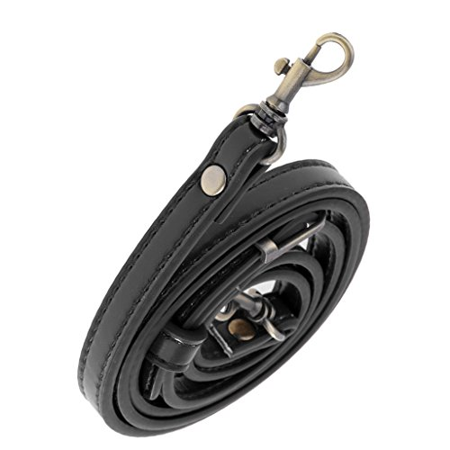 Handle 1cm Wide Bag Crossbody 2pcs Bag Leather Adjustable Strap Prettyia Shoulder PU w1Bzwq