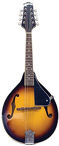 Kona A Style Traditional Mandolin by M&M Merchandisers