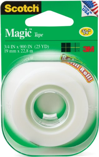 Scotch Magic Refill Roll, 3/4 x 900 Inches - Scotch Magic