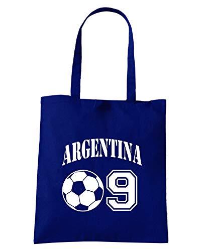 Speed Shirt Borsa Shopper Blu Navy WC0015 ARGENTINA