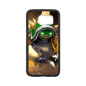 Samsung Galaxy S6 Phone Case Cover White League of Legends King Rammus EUA15991432 Cell Phone Case
