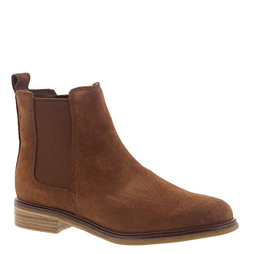 CLARKS New Women's Clarkdale Arlo Boot Dark Tan Suede 10 (Womens Sale Ankle Boots Clarks)