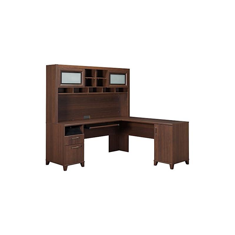 Bush Furniture Achieve L Shaped Desk wit
