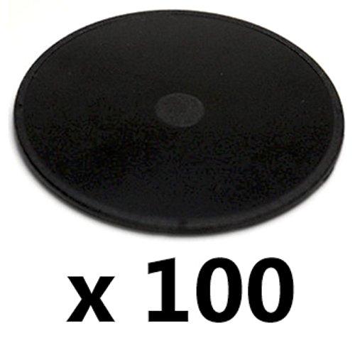 100 x BULK TomTom GPS Adhesive Suction Cup Mount Car Dash Disc Pads Garmin Magellan (100 pack)
