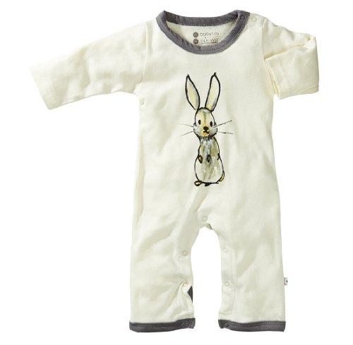 Babysoy Baby-Boys Bunny Jumpsuit