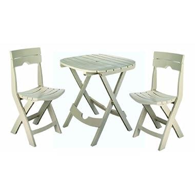 Adams Manufacturing 8590-23-3731 Quik-Fold® Cafe Bistro Set, Desert Clay