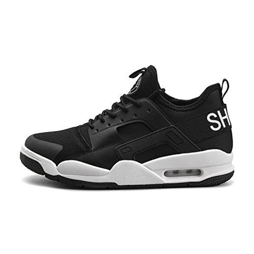 Scarpe Tqgold Cuscino Sneakers Running D'aria Corsa Uomo Interior Nero Sportive Fitness Ginnastica Da Casual Bianco All'aperto Fr5cfq5