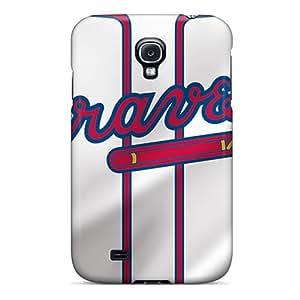New Atlanta Braves Tpu Case Cover, Anti-scratch TxG981YuwN Phone Case For Galaxy S4