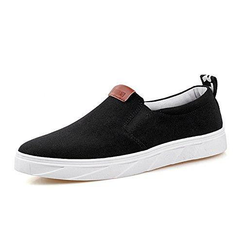 Zapatos de ocio de verano/Cómodos zapatos de conducción antideslizante/Simple moda zapatos de hombre Negro