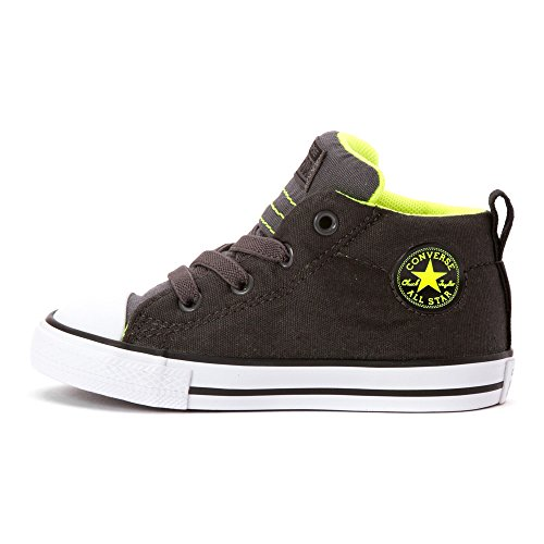 Converse Kids Chuck Taylor All Star Street Mid (baby / Peuter) Stormwind / Donder / Veiligheid Geel