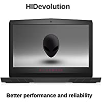 HIDevolution Alienware 17 R4 17 inch QHD Gaming Laptop | 2.9 GHz i7-7820HK, 32GB DDR4 RAM, GTX 1080 8GB, PCIe 256GB SSD + 1TB HDD | Authorized Performance Upgrades & Warranty