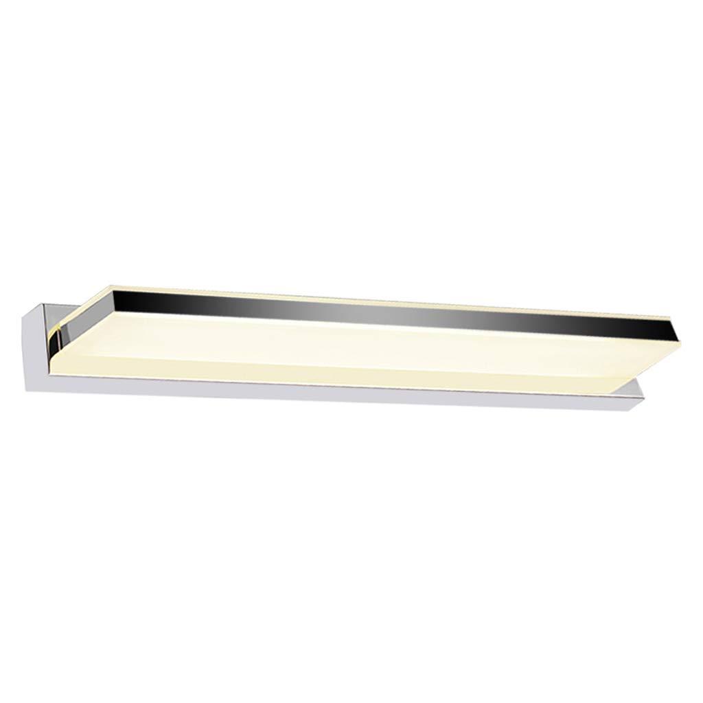 FJH Spiegel-vorderes Licht führte wasserdichtes Badezimmer-Spiegel-Licht feuchtigkeitsgeschützte Wandleuchte-Verfassungs-Spiegel-Licht (Größe   60cm)