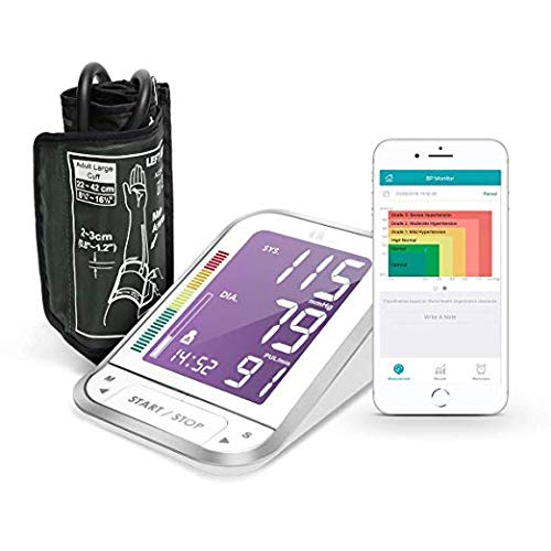 1byone Blood Pressure Monitor Upper Arm Cuff with App