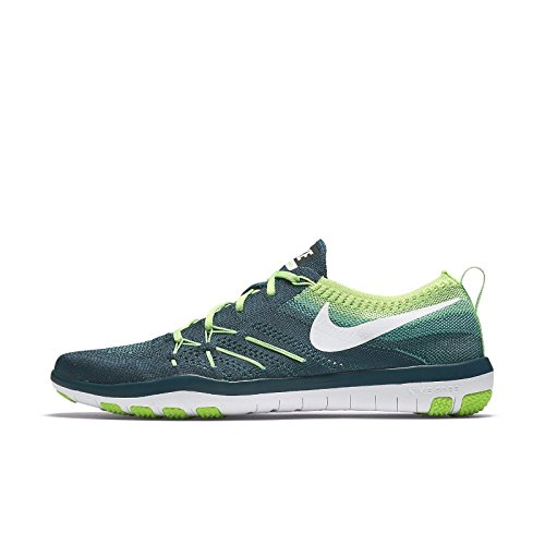 Nike WoMen 844817-301 Fitness Shoes Turquoise (Midnight Turq / White-electric Green)