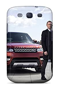 Durable Case For The Galaxy S3- Eco-friendly Retail Packaging(range Rover Sport James Bond)