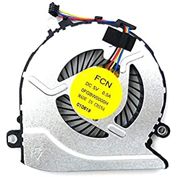 Original CPU cooling fan for HP Pavilion 15-bc017nt 15-bc018tx 15-bc051nr