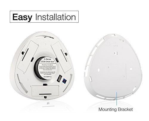 X-Sense SD03M Battery Powered Smoke/Fire Alarm Smoke Detector with Photoelectric Sensor: Amazon.es: Informática