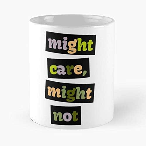 Maybe Yes No Classic Mug - The Funny Coffee Mugs For Halloween, Holiday, Christmas Party Decoration 11 Ounce White Jamestrond.