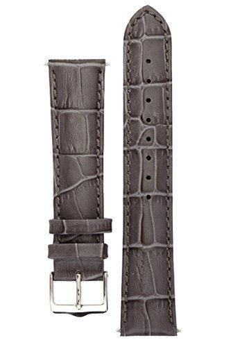 Grey Alligator Strap - 2
