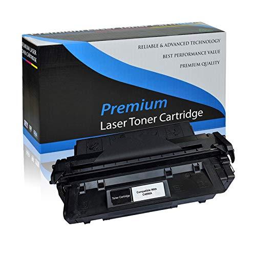 KCMYTONER Compatible Toner Cartridge Replacement for HP 96A C4096A use in Laserjet 2100 2100M 2100SE 2100TN 2100XI 2200 2200d 2200DN 2200DT 2200DTN 2200DSE Series Printers - Black,1 Pack