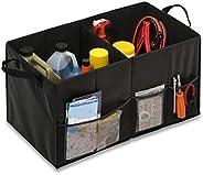 Honey-Can-Do SFT-01166 Soft Storage Chest, Black Folding Trunk Organizer