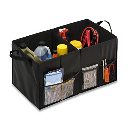 Honey Can Do Folding Trunk Organizer Black product image