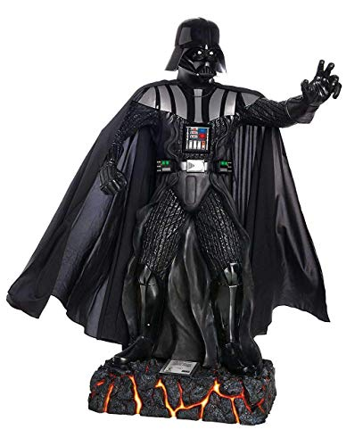 LM Treasures Star Wars Darth Vader Anakin Skywalker Life Size Statue Light Up