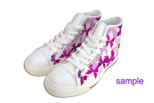 Womens Canvas High Top Shoes Art Design Pattern Shoes19 ngeTJwaaW