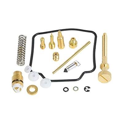 Set of 2 Carburetor Carb Rebuild Kit Repair for Kawasaki KLF300 Bayou 4x4 1989-2004 KLF 300: Automotive
