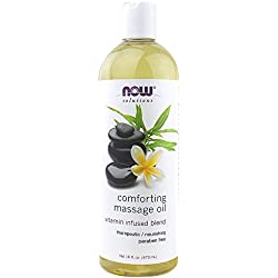 NOW Comforting Massage Oil, 16-Ounce