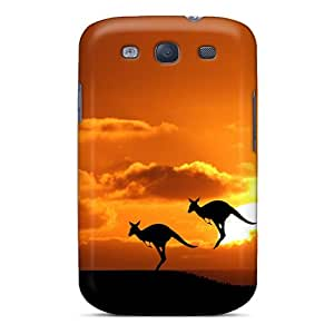 Galaxy S3 Case Cover Skin : Premium High Quality Kangaroos Case