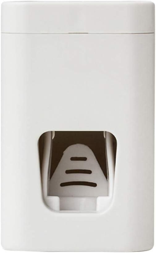 Einfach OUNONA H/ängen Kreative Squeezer Zahnb/ürstenhalter Automatische Waschen Gurgeln Anzug Bad-Accessoires Waschbecher Zahnpastaspender