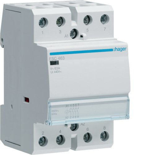 electrical relays Hager ESC463 power relay