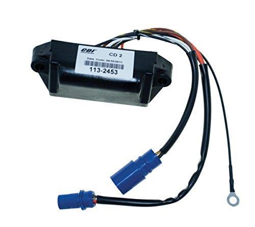 (Johnson Evinrude Power Pack CD Type Ignition 6 - 35 Hp 1977 - 1984 Model CD2 WSM 113-2453 CD2 NO LIMIT OEM# 18-5758, 581649, 581924, 581926, 581927, 582452, 582453, see description)